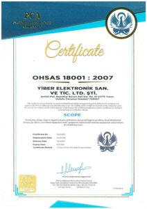 EN OHSAS 18001 2007