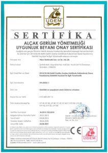 TR Certificate of Low Voltage Fly Killers