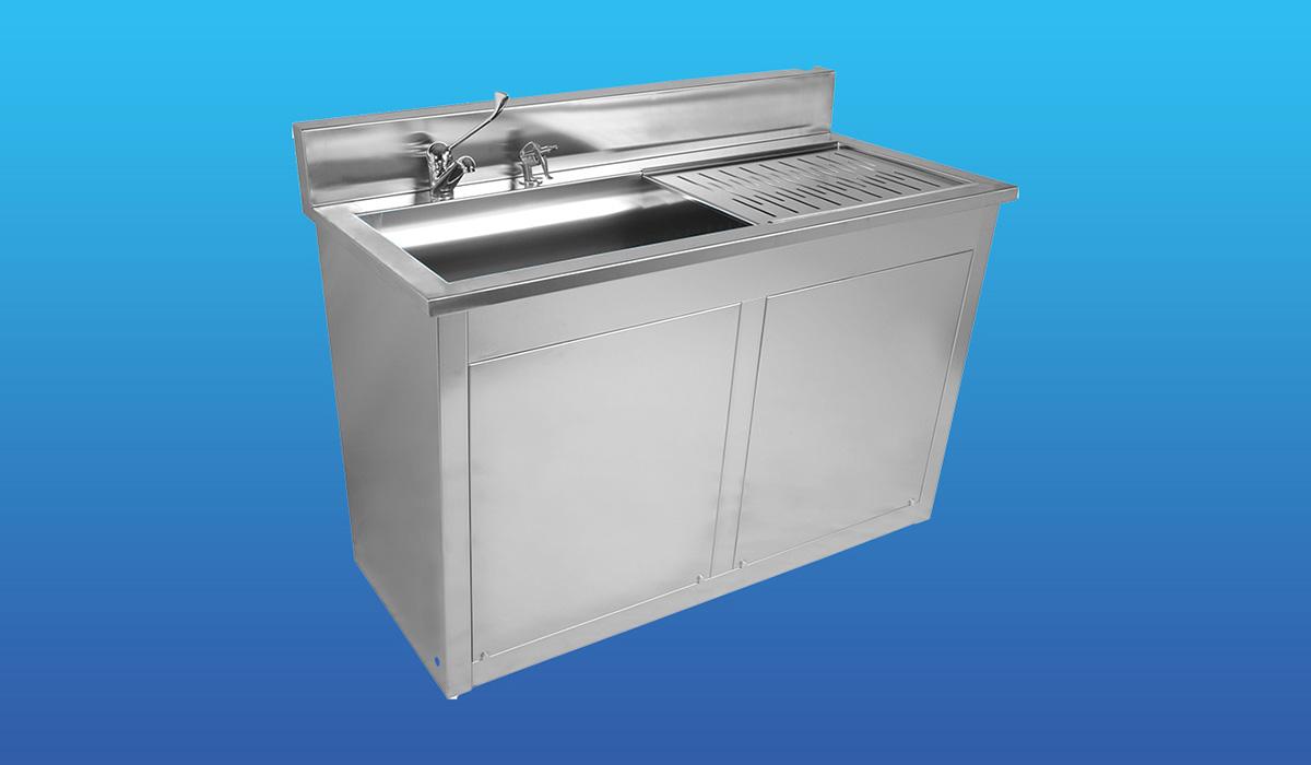 Yibtech STV 132 F Double Hand Washing Sink